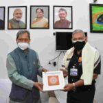 मुख्यमंत्री तीरथ सिंह रावत से मुलाकात की भारत के चीफ डिफेंस स्टाफ जनरल बिपिन रावत ने